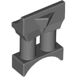 Dark Bluish Gray Minifigure, Utensil Binoculars Space - used