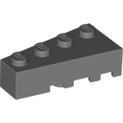 Dark Bluish Gray Wedge 4 x 2 Left - new
