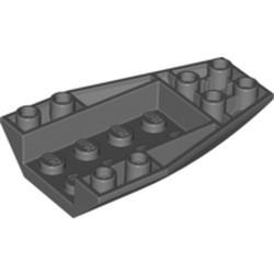 Dark Bluish Gray Wedge 6 x 4 Triple Inverted Curved - used