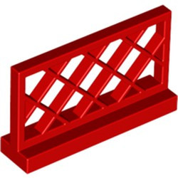 Red Fence 1 x 4 x 2