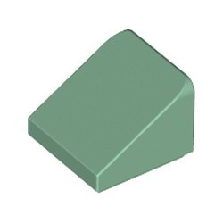 Sand Green Slope 30 1 x 1 x 2/3 - new