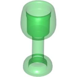 Trans-Green Minifigure, Utensil Goblet Large