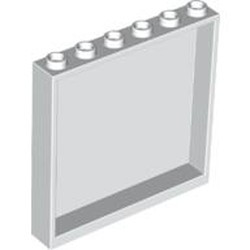 White Panel 1 x 6 x 5 - new