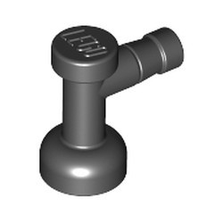 Black Tap 1 x 1 without Hole in Nozzle End - new
