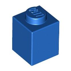 Blue Brick 1 x 1 - used