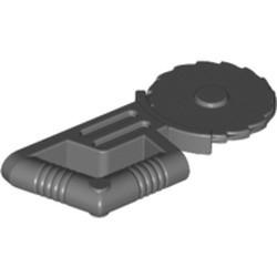 Dark Bluish Gray Minifigure, Utensil Tool Circular Blade Saw