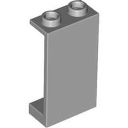 Light Bluish Gray Panel 1 x 2 x 3 - Hollow Studs - used