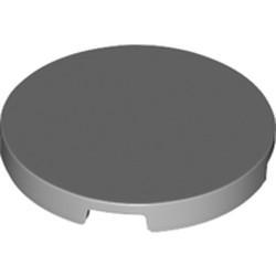 Light Bluish Gray Tile, Round 3 x 3 - new
