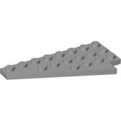 Light Bluish Gray Wedge, Plate 8 x 4 Wing Left - used