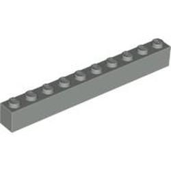 Light Gray Brick 1 x 10 - used