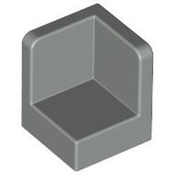 Light Gray Panel 1 x 1 x 1 Corner - new