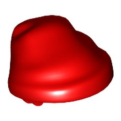 Red Minifigure, Headgear Hat, Cloth Wrap / Bandana