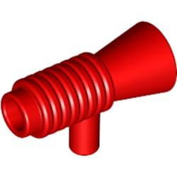 Red Minifigure, Utensil Loudhailer / Megaphone / SW Blaster