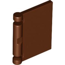Reddish Brown Minifigure, Utensil Book Cover - new