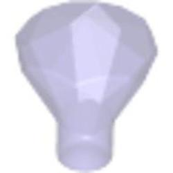 Trans-Purple Rock 1 x 1 Jewel 24 Facet - new