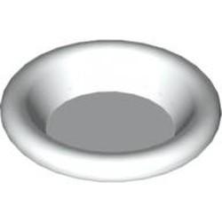 White Minifigure, Utensil Dish 3 x 3