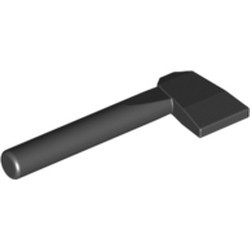 Black Minifigure, Utensil Axe - used