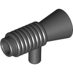 Black Minifigure, Utensil Loudhailer / Megaphone / SW Blaster - used