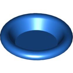 Blue Minifigure, Utensil Dish 3 x 3 - used
