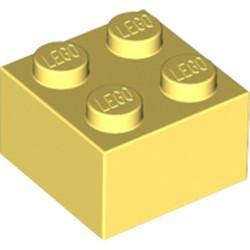Bright Light Yellow Brick 2 x 2 - new