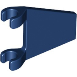 Dark Blue Flag 2 x 2 Trapezoid - used