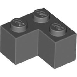 Dark Bluish Gray Brick 2 x 2 Corner - used