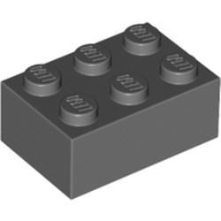 Dark Bluish Gray Brick 2 x 3 - used