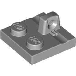 Light Bluish Gray Hinge Plate 2 x 2 Locking with 1 Finger on Top - new