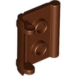 Reddish Brown Minifigure, Utensil Book Binding with 2 Studs