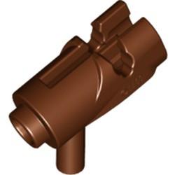 Reddish Brown Minifigure, Weapon Gun, Mini Blaster / Shooter