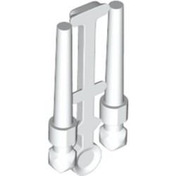White Minifigure, Utensil Wand, 2 on Sprue - new