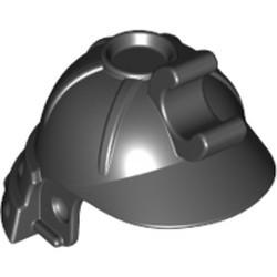 Black Minifigure, Headgear Helmet Ninja (Ninjago Samurai) - new