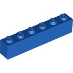 Blue Brick 1 x 6 - new