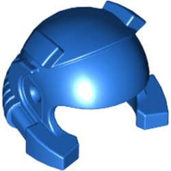 Blue Minifigure, Headgear Helmet with Breathing Apparatus and Headlights