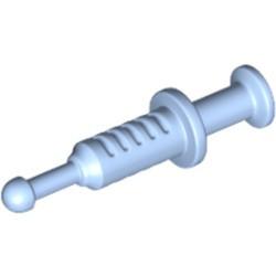 Bright Light Blue Minifigure, Utensil Syringe - new