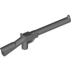 Dark Bluish Gray Minifigure, Weapon Gun, Rifle