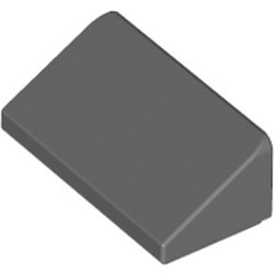 Dark Bluish Gray Slope 30 1 x 2 x 2/3 - new