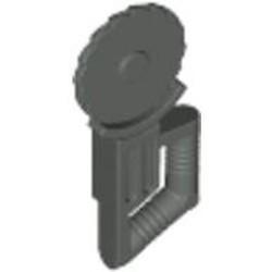 Dark Gray Minifigure, Utensil Tool Circular Blade Saw