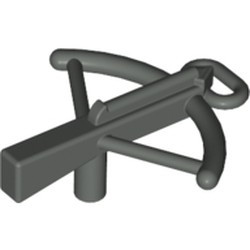 Dark Gray Minifigure, Weapon Crossbow