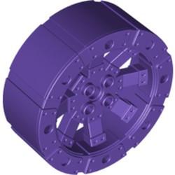 Dark Purple Wheel Wagon Viking with 12 Holes (55mm D.) - used
