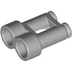 Light Bluish Gray Minifigure, Utensil Binoculars Town