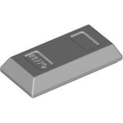 Light Bluish Gray Minifigure, Utensil Ingot / Bar