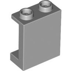 Light Bluish Gray Panel 1 x 2 x 2 with Side Supports - Hollow Studs - new