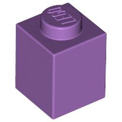 Medium Lavender Brick 1 x 1 - used