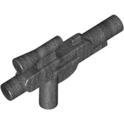 Pearl Dark Gray Minifigure, Weapon Gun, Blaster Short (SW) - used