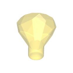 Trans-Yellow Rock 1 x 1 Jewel 24 Facet - new