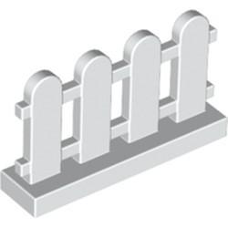 White Fence 1 x 4 x 2 Paled (Picket)