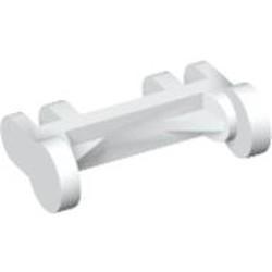 White Minifigure, Utensil Stretcher Wheels - used