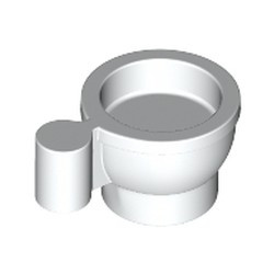 White Minifigure, Utensil Tea Cup - new