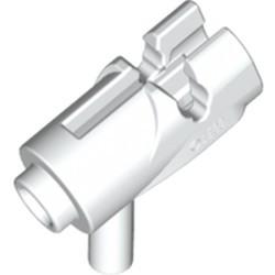 White Minifigure, Weapon Gun, Mini Blaster / Shooter